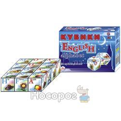 """Іграшка кубики """"Англійська абетка ТехноК"""""""