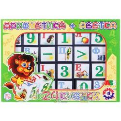 "Игрушка кубики ""Азбука+ Арифметика ТехноК"""