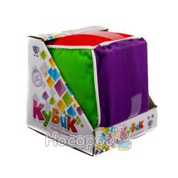 Кубик М 1618 (мяка іграшка, інтерактивна розвиваюча гра, 48 карток) (36)