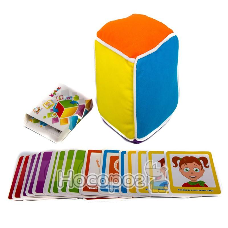 Фото Кубик М 1618 (мяка іграшка, інтерактивна розвиваюча гра, 48 карток) (36)