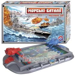 """Настольная игра """"Морские баталии ТехноК"""""""