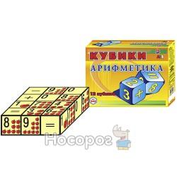 "Игрушка кубики ""Арифметика ТехноК"""