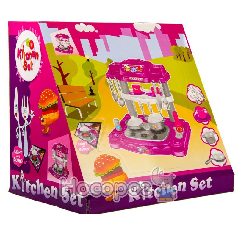 Фото Кухня детская В 994510 ( газовая плита, кастрюля, сковородка)