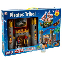 Замок пиратов 0809-2 (свет, батарейки) в коробке (24)