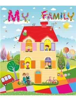 Лепбук «My Family» Учебники и пособия [2255555501467]