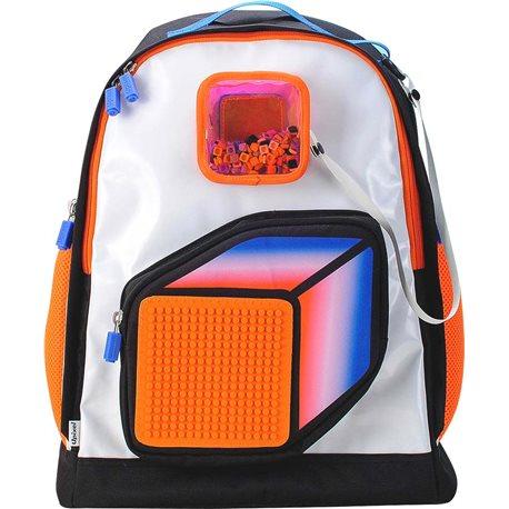 Фото Upixel-Рюкзак Model Answer Оранжево-белый [WY-U18-009U]