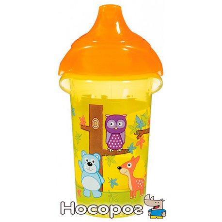 "Фото Пляшка непроливна ""Deco Sippy"" , 266мл.(жовта)"