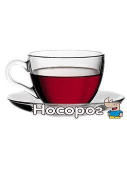 Чашка с блюдцем для чая 215 мл Basic [97948]
