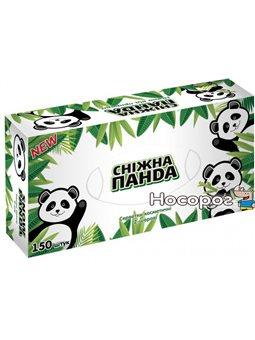 Косметические салфетки Снежная панда 2 слоя, 150шт * 30