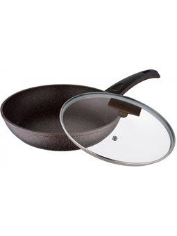 Сковорода с крышкой Bergner BG-8073-MBG