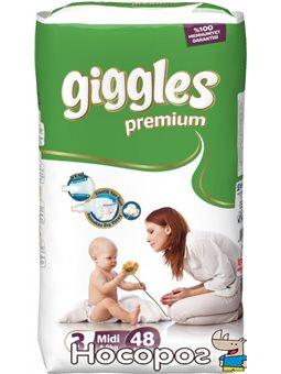 Giggle дитячі підгузники міді 48шт*4 premium