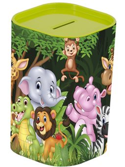 Копилка HEREVIN Money BOX Animals Green