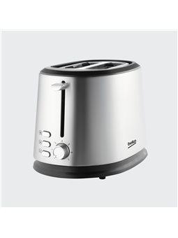 Тостер Beko TAM6201I - 850 Вт / 2 отделения / нерж. сталь [TAM6201I]