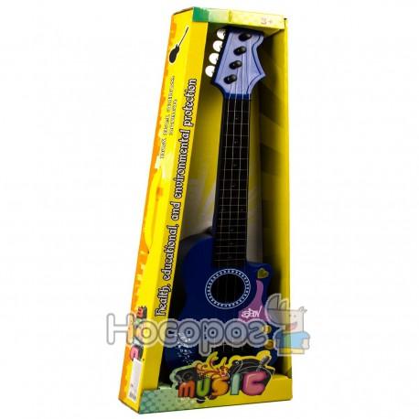 Гитара HR 199 В (музыка, свет, с струнами, 3 цвета, на батарейке) (48)