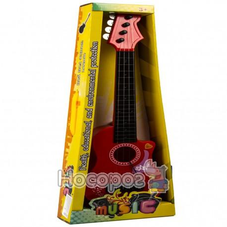 Фото Гитара HR 199 В (музыка, свет, с струнами, 3 цвета, на батарейке) (48)