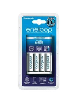 Зарядний пристрій Basic Charger+ Eneloop 4AA 1900 mAh New [K-KJ51MCC40E]