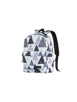 Рюкзак 2Е, TeensPack Triangles, білий [2E-BPT6114WT]