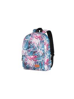 Рюкзак 2Е, TeensPack Palms, рожевий [2E-BPT6114PK]