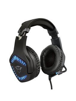 Гарнітура Trust GXT 460 Varzz Illuminated Multiplatform Gaming Headset BLACK [23380]