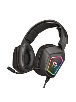 Гарнітура TRUST GXT 450 Blizz RGB 7.1 Surround Gaming Headset RGB BLACK [23191]