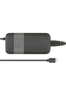 Адаптер живлення TRUST Moda Universal 60W USB-C Charger [21478]