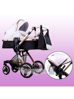 Универсальная детская коляска Ninos BONO белая
