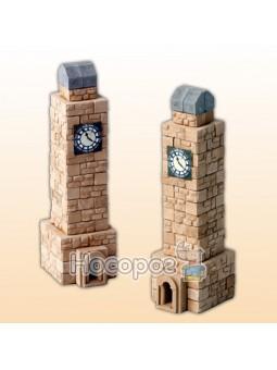 Игрушка-конструктор из мини-кирпичков Башня с часами