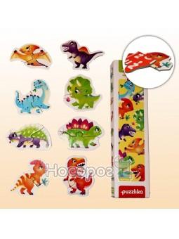 Пазлы 8 в 1 Динозавры 15252