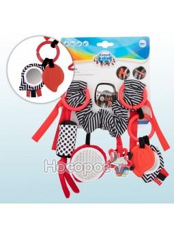 Погремушка к коляске Canpol babies плюшевая Sensory Toys