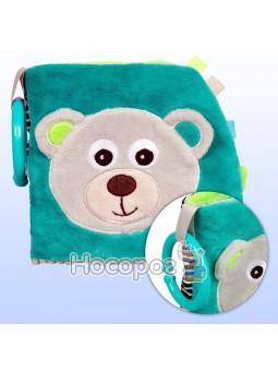 Игрушка-книжечка мягкая развивающая Canpol babies BEARS