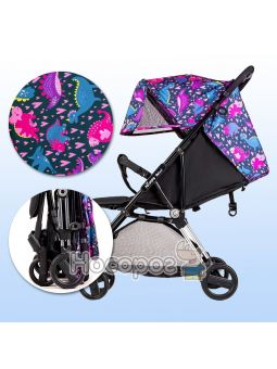Дитяча прогулянкова коляска Ninos Mini 2 Pink Dino NM2020BD