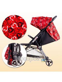 Дитяча прогулянкова коляска Ninos Mini Red Love NM2019RL