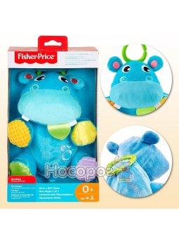 Плюшевая игрушка Бегемотик-шарик Fisher-Price GFC35