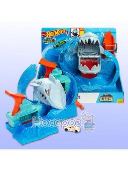Игровой набор Голодная Акула-робот серия Измени цвет Hot Wheels GJL12