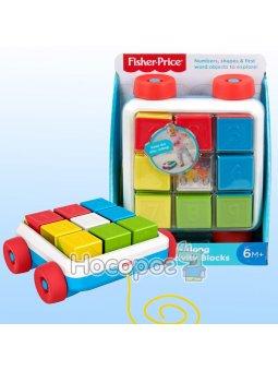 Игрушка-каталка Яркие кубики Fisher-Price GJW10