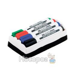 Маркер BUROMAX 8800-84 для магнитных досок с губкой