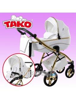 Универсальная коляска 2 в 1 Tако Extreme Pik 01 White Gold