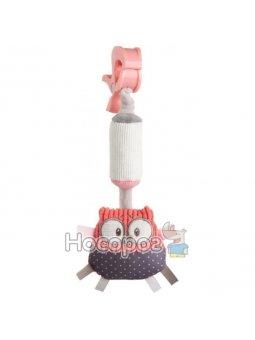 Игрушка плюшевая с колокольчиком Canpol babies 68 / 066_cor Pastel Friends - коралловая