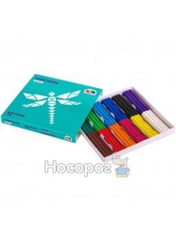 """Пластилін Гамма """"Мозаїка"""" 12 кольорів, 180 гр (18) 300304"""