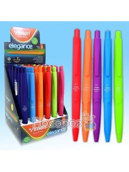Ручка шариковая Vinson Elegance 8055 автоматическая 01728