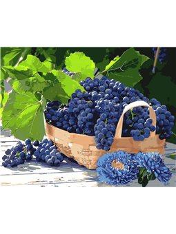 Виноград в корзине [КН5579]