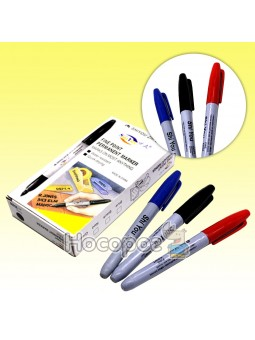 Маркер перманентный черный, синий, красный 95000/35-31, 055687