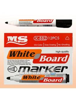 Маркер для сухостираемой доски, черный WB-8576/X-882, MS 052490