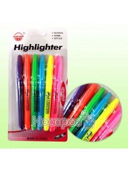 Набор текстовых маркеров 056962, 6 цветов, круглые
