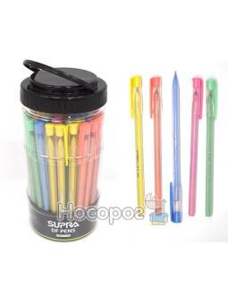 Ручка масляная, синяя SUPRA Х1-19 002205