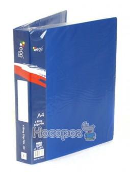 Папка с внутр.карманом Eco Eagle 4 кольца 2403-00, А4