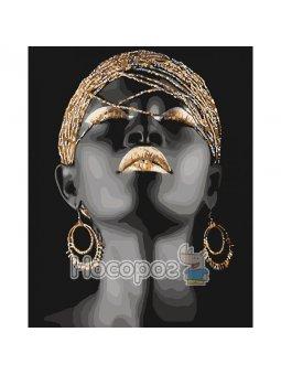 Картина по номерам Африканская принцесса КНО4