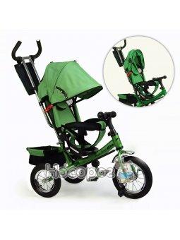 Велосипед трехколесный VT1438 зеленый