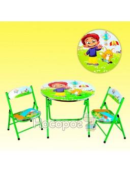 Столик с двумя стульчиками DT 22/466-203