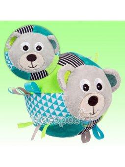 Canpol babies Игрушка-мячик мягкая с колокольчиком BEARS